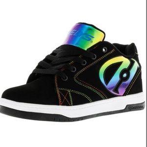 Heelys Propel 2.0 Black Rainbow Foil Sneakers